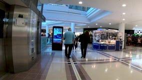 Гипер упущение вокруг западного торгового центра сада в Ковентри сток-видео