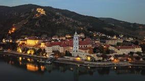Гипер упущение Durnstein, Австрии акции видеоматериалы