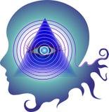 гипнотизировать взгляд Стоковое фото RF