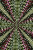 Гипнотическая абстракция лабиринта каскада Стоковое Изображение