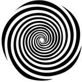 гипнотическая картина иллюстрация вектора