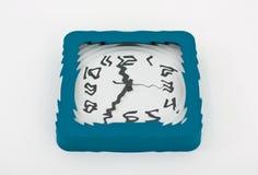 Гипнотические настенные часы Стоковые Фото
