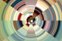 Гипнотические шаловливые круги, абстрактная предпосылка Стоковое Изображение