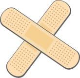 гипсолит повязки Стоковые Фотографии RF