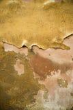 Гипсолит на старой стене Стоковое Фото