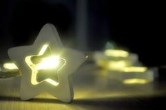 Гирлянда предпосылки звезд стоковая фотография rf