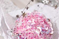 гирлянда рождества Стоковое Изображение RF