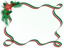 Гирлянда рождества Стоковое фото RF