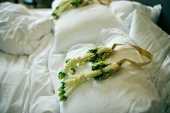 Гирлянды свадьбы Стоковая Фотография RF