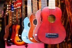 Гитара гавайской гитары Стоковое Изображение