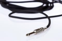 гитара кабеля Стоковое Изображение