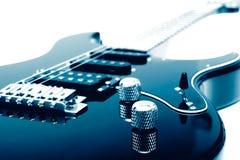гитара крупного плана электрическая Стоковое Изображение RF