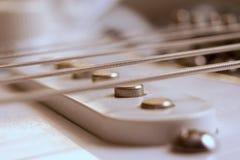 гитара крупного плана Стоковая Фотография