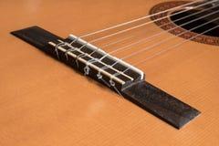 гитара моста классическая Стоковые Изображения