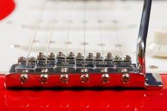 гитара моста электрическая Стоковые Изображения RF