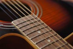 Гитара, музыка, строки, музыкальный инструмент, нежность, стоковая фотография rf