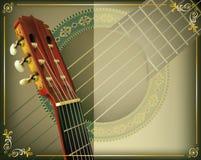 Гитара музыки Стоковая Фотография RF