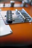 гитара предпосылки электрическая Стоковое фото RF