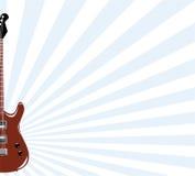 гитара предпосылки Стоковое Изображение RF