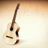 гитара предпосылки Стоковые Фото