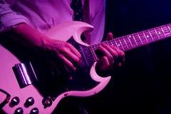 гитара сольная Стоковая Фотография