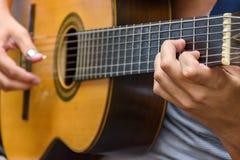 Гитара 7 строк Стоковые Фотографии RF