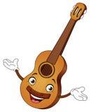 гитара шаржа иллюстрация вектора
