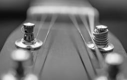 Гитара шнурует абстрактную съемку Стоковые Фотографии RF