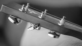 Гитара шнурует абстрактную съемку Стоковые Изображения RF