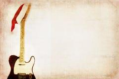 Гитара Electro Grunge Стоковые Фото