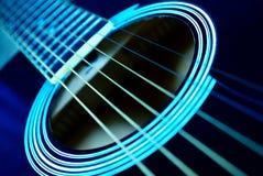 гитара fingerboard Стоковая Фотография