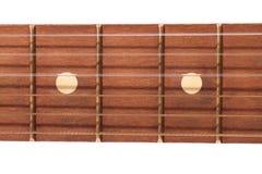 гитара fretboard Стоковое фото RF