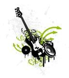гитара grunge Стоковые Изображения RF