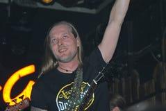 гитара marcel игрок monnig Стоковые Фотографии RF