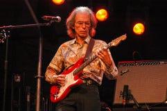 Гитарист Стив Howe группы утвердительного ответа Стоковые Изображения RF