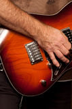 гитарист Стоковая Фотография RF