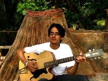 гитарист стоковое фото rf