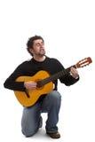 гитарист Стоковые Фото