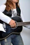 гитарист Стоковое Изображение