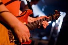 гитарист Стоковое Изображение RF