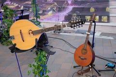 2 гитары ситара младенца Danelectro электрических стоковое изображение