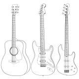 гитары Бесплатная Иллюстрация