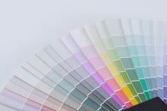 Гид диаграммы цвета для реновации Стоковые Фотографии RF