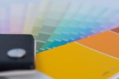 Гид диаграммы цвета для реновации Стоковое Изображение