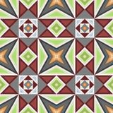 Гидравлические винтажные плитки цемента Стоковые Фотографии RF