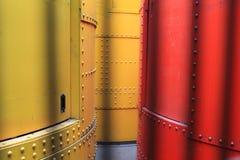Гидравлические цилиндры на Эйфелева башне в Париже, Франции стоковые фото