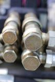 Гидравлическое соединение Стоковое Фото