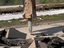 Рукоятка Jackhammer Стоковое Изображение RF