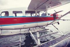 Гидросамолет в Аляске Стоковые Фотографии RF