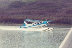 Гидросамолет в Аляске Стоковые Фото